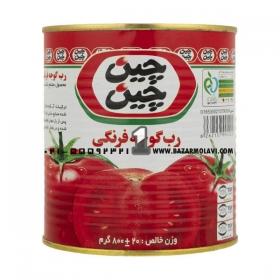 رب گوجه فرنگی مقدار 800 گرمی چین چین