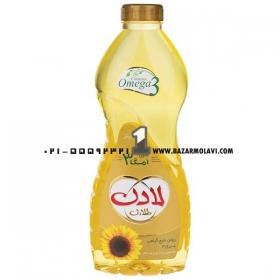 روغن مایع آفتابگردان (1 لیتری) لادن طلایی