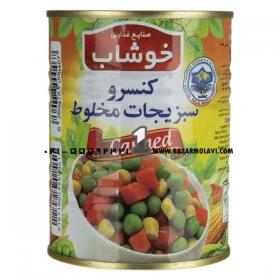 کنسرو سبزیجات مخلوط ( 350 گرمی) خوشاب