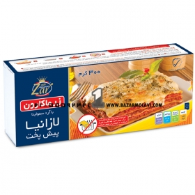 لازانیا (نیم پز) 300 گرمی زر ماکارون