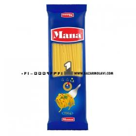 اسپاگتی (سایز 1.2) 700 گرمی مانا