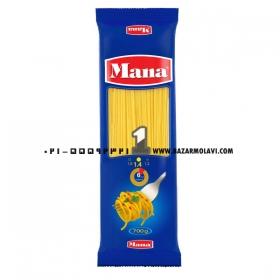 اسپاگتی (سایز1.4) 700 گرمی مانا