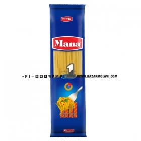 ماکارونی اسپاگتی (سایز1.2غنی شده) 500 گرمی مانا