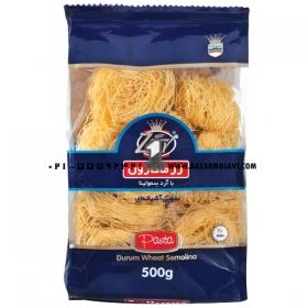 ماکارونی(پاستا ورمشیل) 150 گرمی زر ماکارون