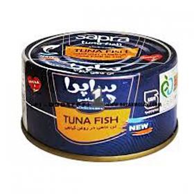 کنسرو ماهی تن 180 گرمی ساپرا
