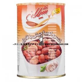کنسرو لوبیا قارچ (425 گرمی ) شیلانه