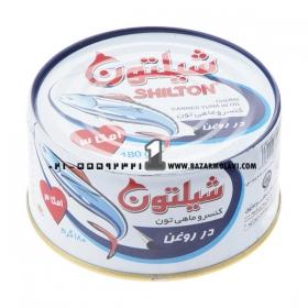 کسنرو تن ماهی 180 گرمی شیلتون