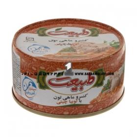 کنسرو تن ماهی(با لوبیا)180 گرمی طبیعت