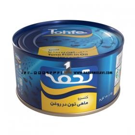 کنسرو تن ماهی 180 گرمی تحفه