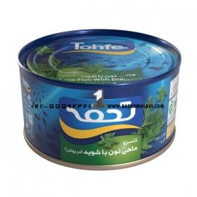 کنسرو تن ماهی (شوید)180 گرمی تحفه
