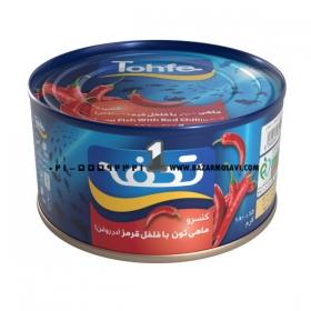 کنسرو تن ماهی (فلفلی) 180 گرمی تحفه