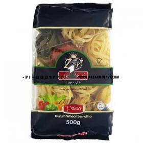 ماکارونی (پاستا آشیانه ای )سبزیجات مقدار 500 گرمی زر ماکارون