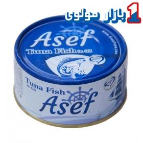 کنسرو ماهی تن 180 گرمی آصف