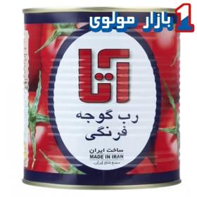 رب گوجه فرنگی مقدار 800 گرمی آتا