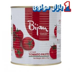 رب گوجه فرنگی  800 گرمی بیژن