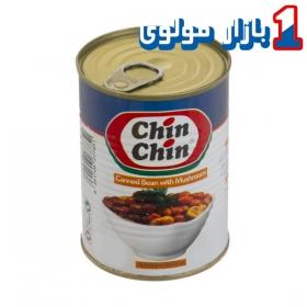 کنسرو لوبیا قارچ (400 گرمی) چین چین