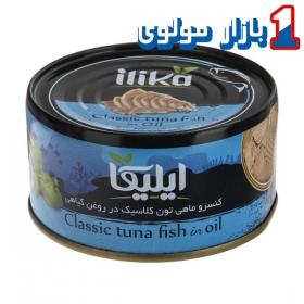 کسنرو تن ماهی 180 گرمی الیکا