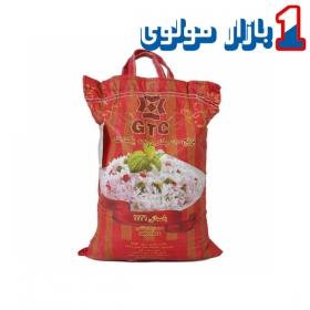 برنج هندی 10 کیلویی جی تی سی