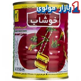 کنسرو رب گوجه فرنگی مقدار 350 گرمی خوشاب