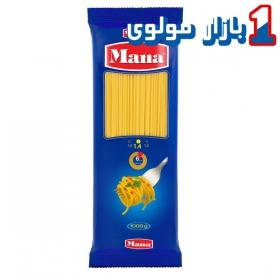 ماکارونی اسپاگتی (سایز 1.4) 1000 گرمی مانا
