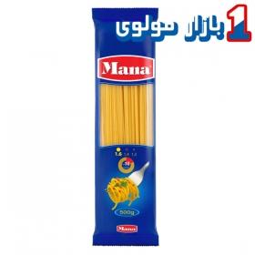 اسپاگتی (سایز1.6) 500 گرمی مانا