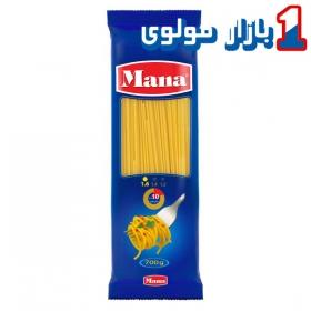 اسپاگتی (سایز 1.6) 700 گرمی مانا