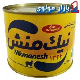روغن حیوانی کرمانشاهی (گوسفندی-گاوی)450 گرمی نیک منش زرد