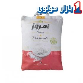برنج پاکستانی 10 کیلویی امروز