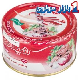 کنسزو تن ماهی(سیر و فلفل) 180 گرمی شیلانه