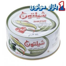 کنسرو تن ماهی (روغن زیتون) 180 گرمی شیلتون