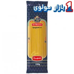 ماکارونی اسپاگتی (۲۵۰ گرمی) قطر ۱.۲ زر ماکارون