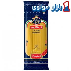 ماکارونی رشته ایی بوکاتینی   (5۰۰ گرمی ) اسپاگتی قطر 2.5 زر ماکارون