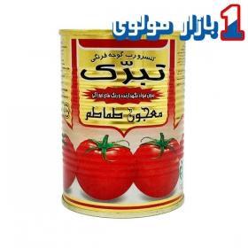 رب گوجه فرنگی مقدار 400 گرمی تبرک